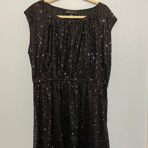 Lane Bryant Sleeveless Sequin Dress
